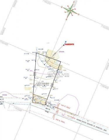 Terreno à venda, 3875 m² por r$ 412.725 - estados - fazenda rio grande/pr - Foto 7