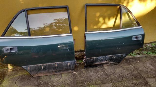 Portas traseiras opala com vidros