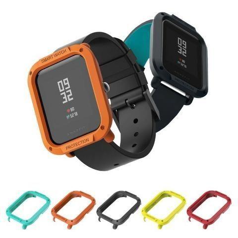 Capa Case Bumper Esportiva Para Proteção Xiaomi Huami Amazfit Bip Relógio Smartwatch