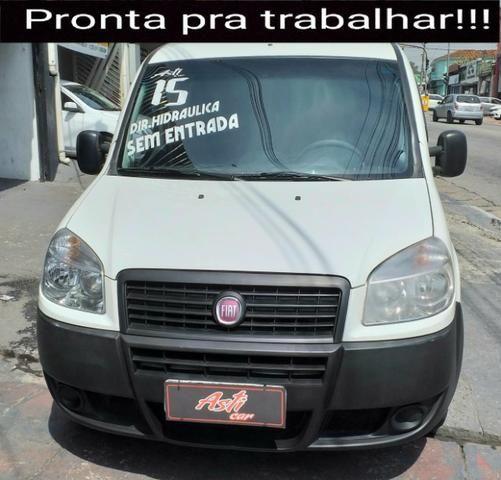 """Fiat Doblo 2015 com direção """"zero de entrada"""" - Foto 2"""