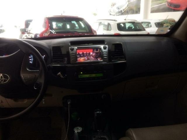 Toyota SW4 SRV 4X4 Diesel 7 lugares 2014/2014 Blindada - Foto 4