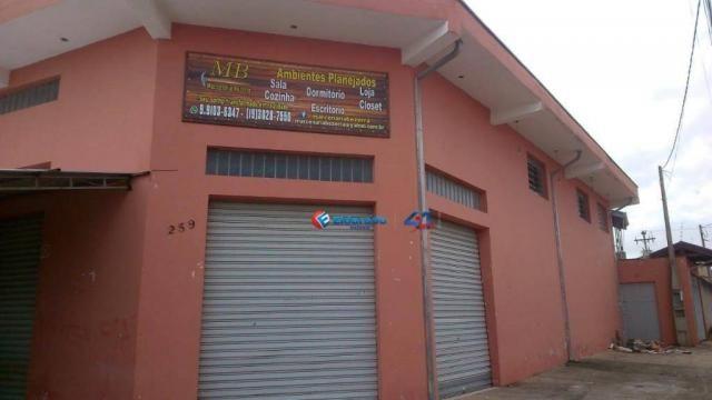 Barracão à venda, 200 m² por R$ 550.000,00 - Jardim Terras de Santo Antônio - Hortolândia/ - Foto 2
