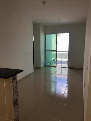 Apartamento com 2 dormitórios à venda, 54 m² por R$ 115.000,00 - Centro - Pacatuba/CE