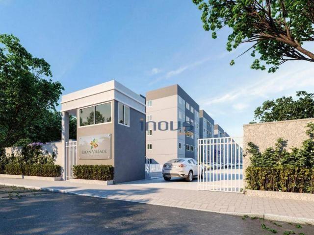 Apartamento com 2 dormitórios à venda, 44 m² por R$ 124.990,00 - Centro - Caucaia/CE - Foto 6