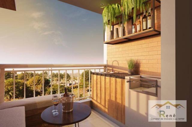 Apartamento com suíte em Hortolandia, varanda, elevador. - Foto 15