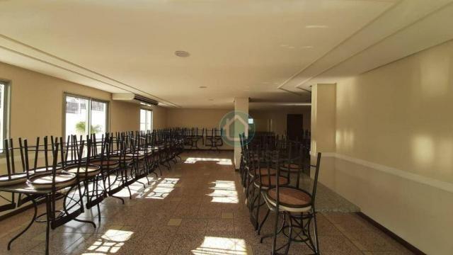 Apartamento Localização Privilegiada à venda, 126 m² por R$ 485.000 - Centro - Campo Grand - Foto 3