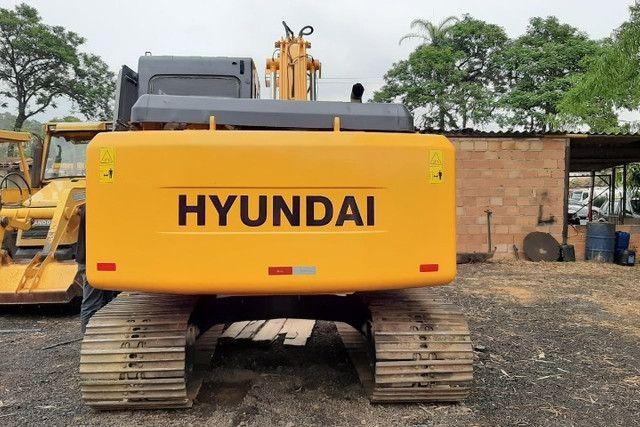 Escavadeira hyundai 140 lc 11\11 - Foto 2