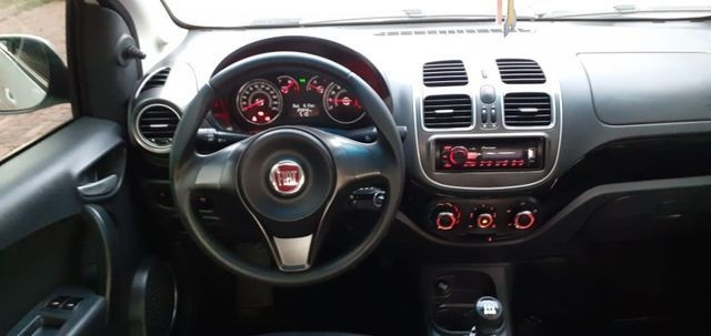Aceito carro menor valor, Gran Siena Attractive 1.4 Flex 2017/2018, completo - Foto 4