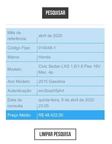 Honda civic LXS 1.8 mec - Foto 6