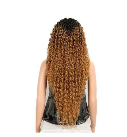 Peruca Lace Front Cacheada Ombre Hair Longo