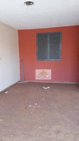 Casa com 2 dormitórios para alugar, 113 m² por R$ 1.200,00/mês - Vila Tibério - Ribeirão P - Foto 2