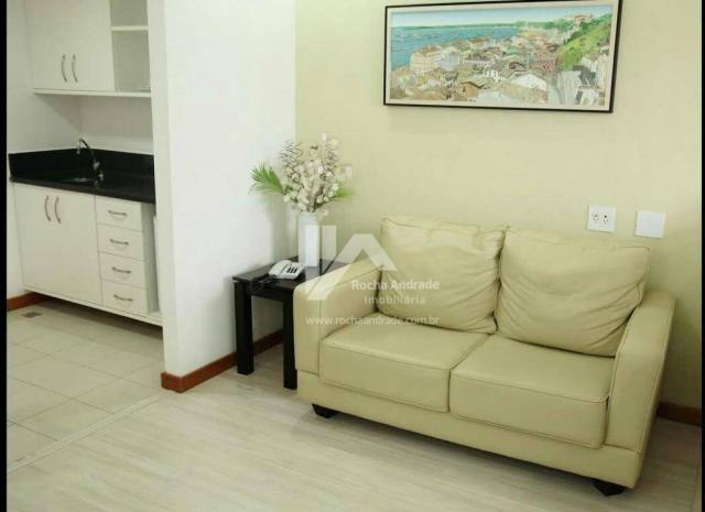 Flat com 1 dormitório à venda, 30 m² por R$ 249.000 - Caminho das Árvores - Salvador/BA - Foto 11