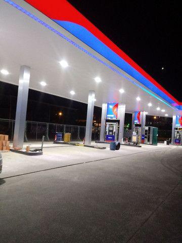 Luminaria em LED ( alta potência) pra posto de gasolina - Foto 2