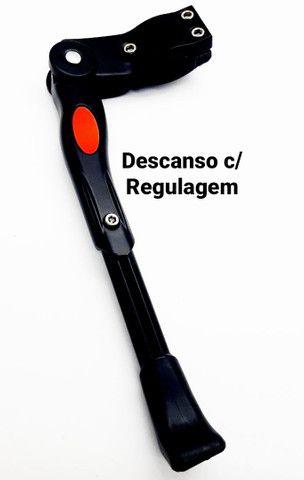 Descanso Lateral Bicicleta C/Reg. GTS Alum. Pto Aros do 24 a 29