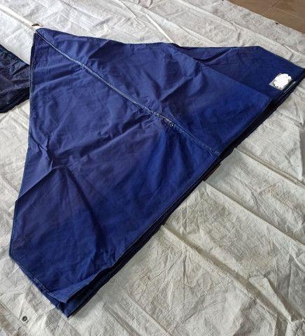 Lonas Coberturas e Laterais usadas Tendas Sanfonadas 1/1/2 e 2x2 e 3x3 e 4,50x3 e 6x3 - Foto 2