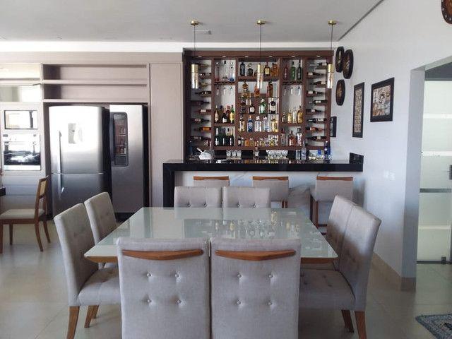 Sala de jantar quadrada de 8 lugares nova completa pronta entrega - Foto 4