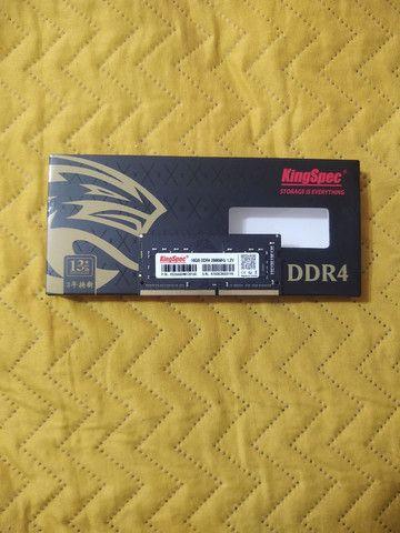 Memória ram para notebook ddr4 16gb  - Foto 2