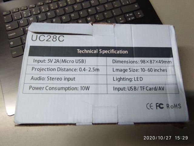 Mini projetor UC 28 C - Foto 5