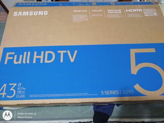 Tv Samsung 43 polegadas + Xbox 360 smart tv - Foto 3