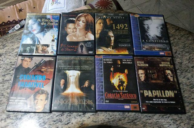 DVDs de filmes antigos e usados (Leia a descrição) - Foto 4