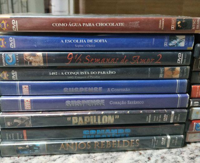 DVDs de filmes antigos e usados (Leia a descrição) - Foto 3