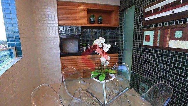 Apartamento com 4 dormitórios à venda, 164 m² por R$ 1.320.000 - Guararapes - Fortaleza/CE - Foto 13