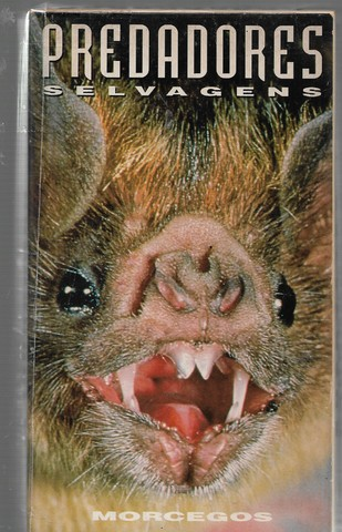 vd138 fita vhs predadores selvqgens morcegos raro