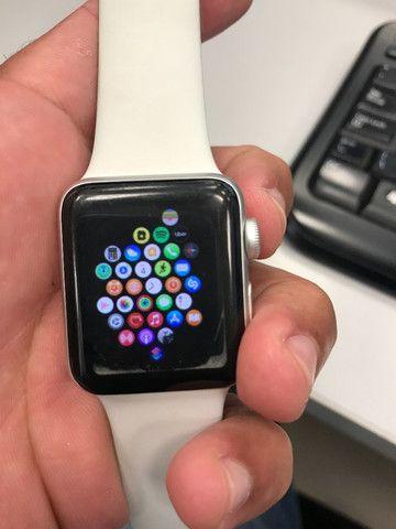Apple what série 3 38mm GPS usado - Foto 3