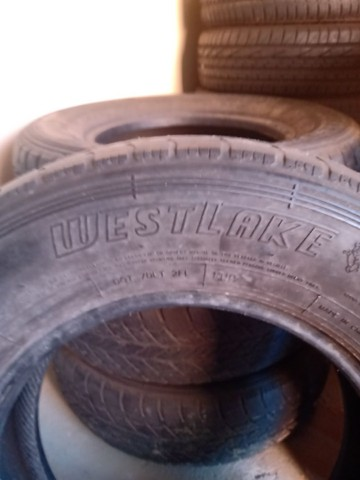 Jogo pneus 225 75 x 16 - Foto 5