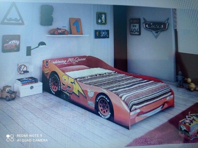 Vendo cama infantil MC Queen. CARROS.