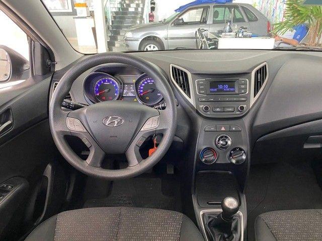 Hyundai Hb20 Unique 1.0 Prata 2019 - Foto 8