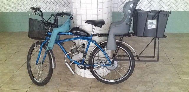 Bike Motorizada 80 cc seminova 2020