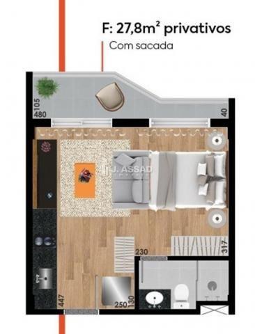 Kitchenette/conjugado à venda com 1 dormitórios em Água verde, Curitiba cod:ST0004 - Foto 15