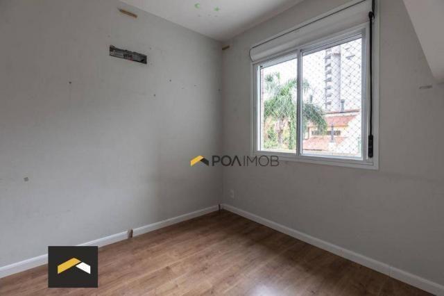 Apartamento com 3 dormitórios para alugar, 96 m² por R$ 3.600,00/mês - Petrópolis - Porto  - Foto 10