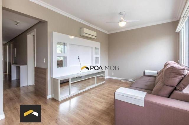 Apartamento com 3 dormitórios para alugar, 96 m² por R$ 3.600,00/mês - Petrópolis - Porto  - Foto 2