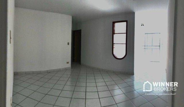 Apartamento com 3 dormitórios para alugar, 84 m² por R$ 1.200,00/mês - Zona 06 - Maringá/P - Foto 5