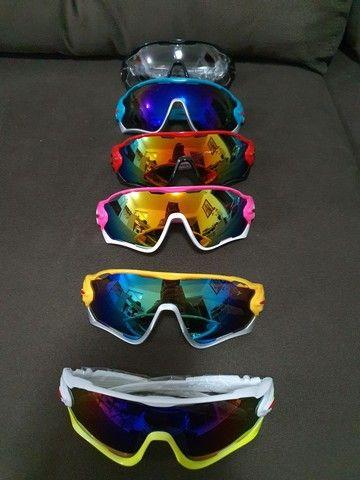 Oculos de ciclismo - 6 cores