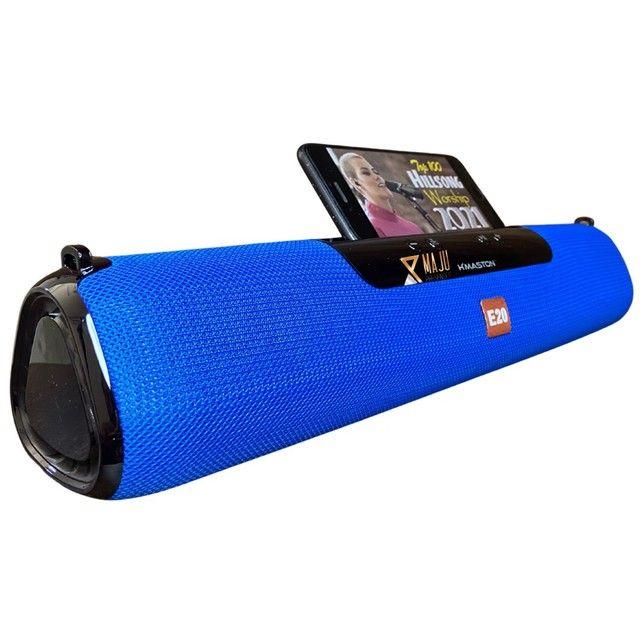 Caixa Som Alto Falante Hmaston E-20 Portátil Bluetooth  - Foto 5