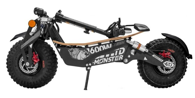 Patinete Elétrico Scooter Off-Road TD-Monster 1600w Two Dogs<br><br> - Foto 3