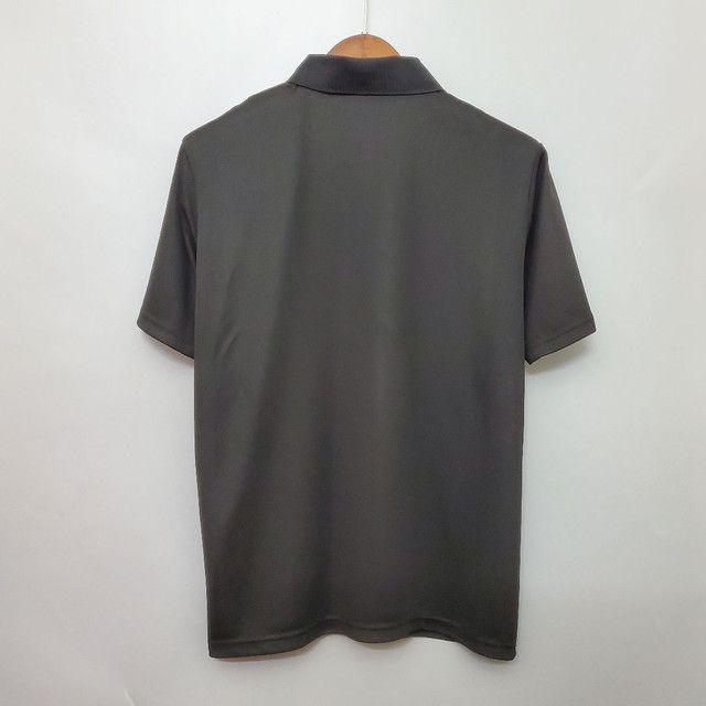 Camisa polo PSG 20/21 Preta, lançamento camiseta Psg - Foto 4