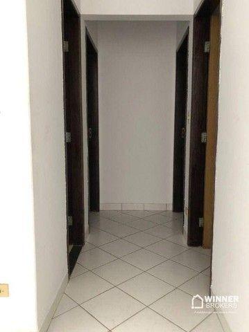 Apartamento com 3 dormitórios para alugar, 84 m² por R$ 1.200,00/mês - Zona 06 - Maringá/P - Foto 7