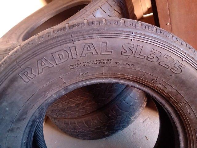 Jogo pneus 225 75 x 16 - Foto 3