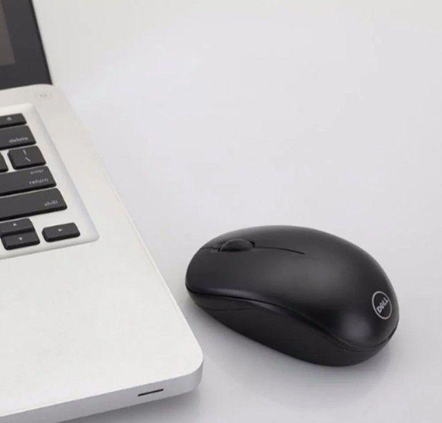 Mouse sem fio Dell WM126 (novo) - Foto 2