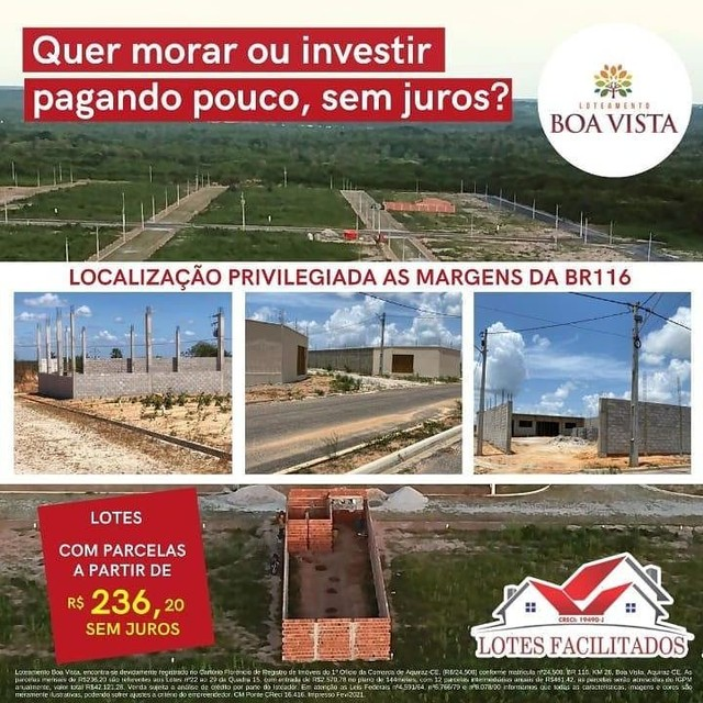 Boa vista Loteamento liberado para construir, Itaitinga-ce - Foto 3