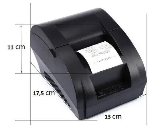 Impressora térmica não fiscal USB 58mm - Foto 4