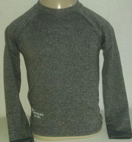 Camisa Juvenil proteção UV fator 50+ (atacado e varejo) - Foto 2