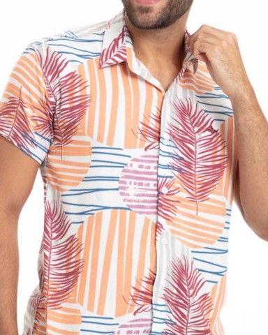 Camisas Viscose Frete grátis  - Foto 6