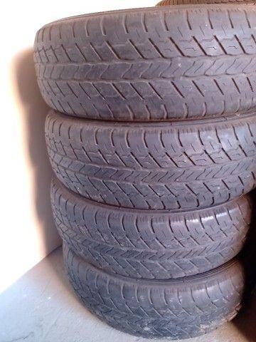 Jogo pneus 225 75 x 16