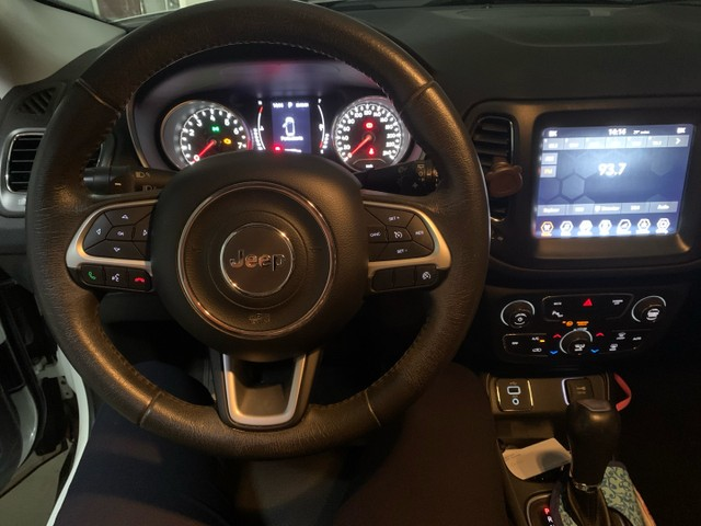 Jeep compass longitude branco pérola 2.0 flex 17/18 - Foto 3