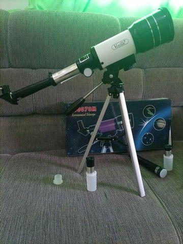 Telescópio Astronômico 70mm Com Tripé F300 70m Csr F30070m   - Foto 6